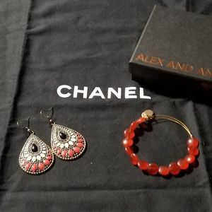 Alex N Ani  Bracelets and Lucky Brand Earring